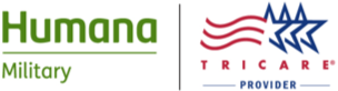Humana Military and TRICARE Provider logos